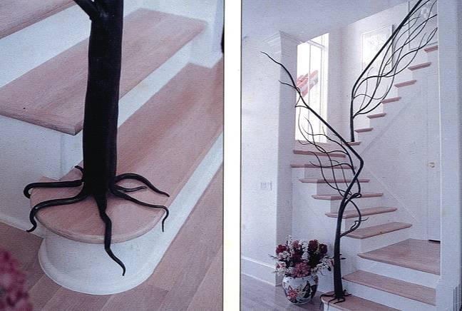 Baum-Treppengeländer
