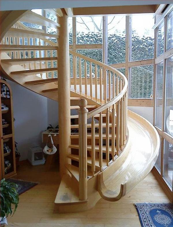 Treppenrutsche
